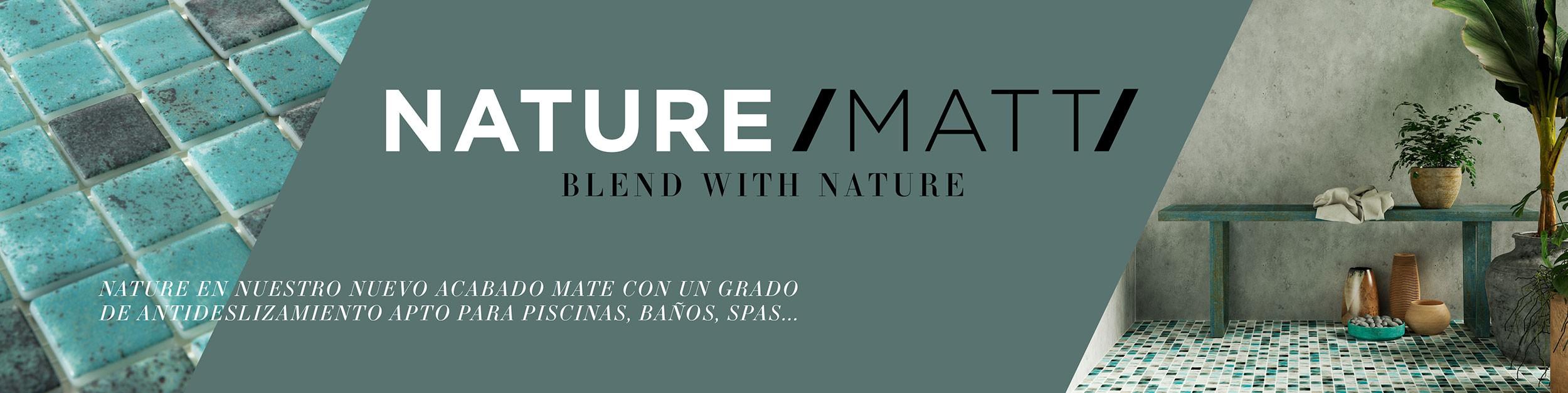 Banner Nature Matt - Fabricantes De Gresite