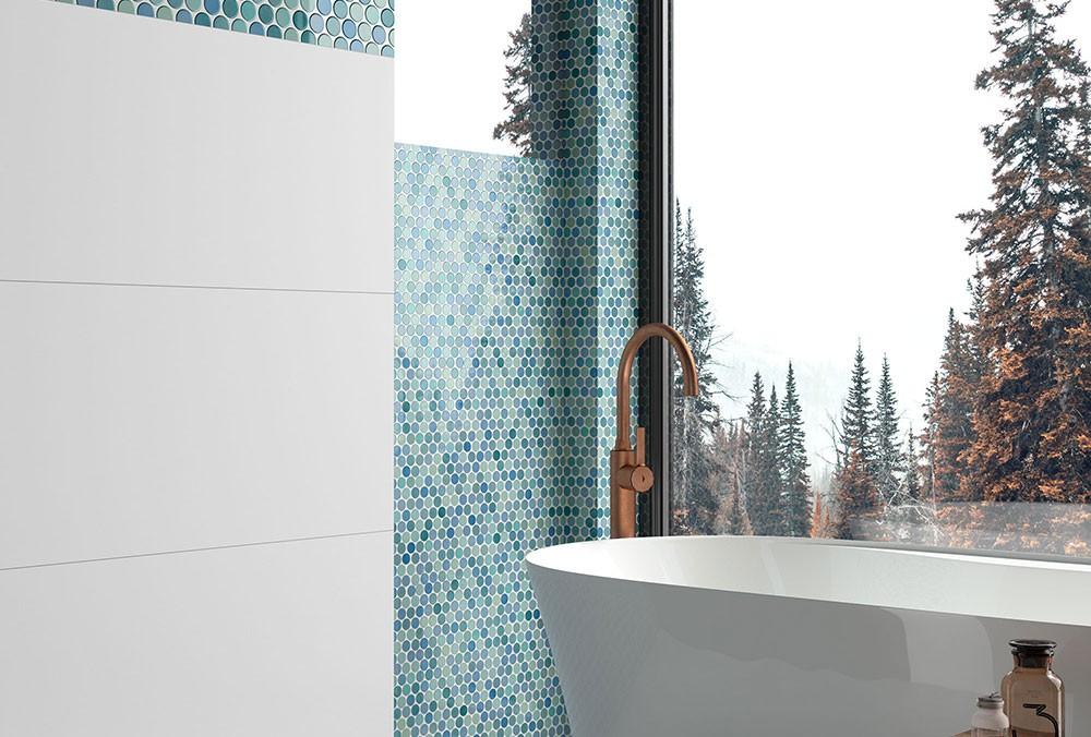 Ba Os Con Gresite Y Azulejos - Gresite Baño