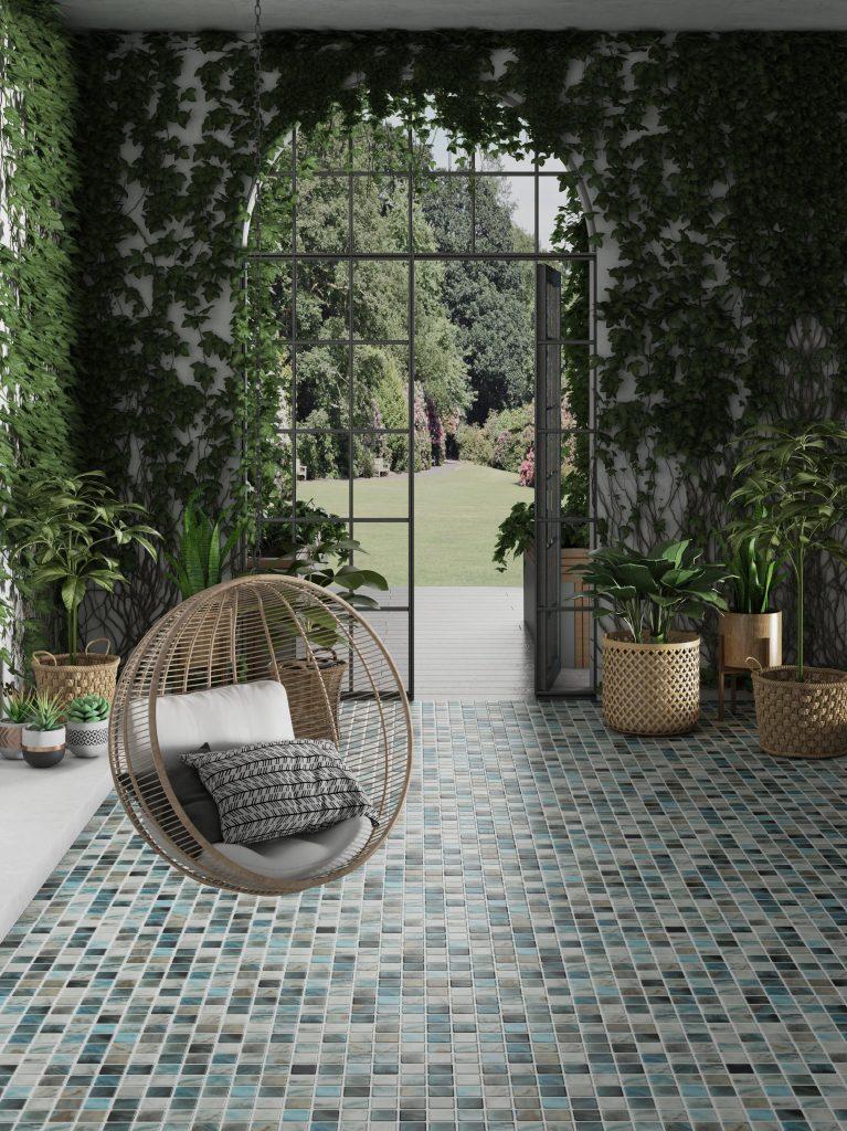 Mosaicos Para Exterior Lo Ltimo Para Suelos Y Fachadas - Decoración