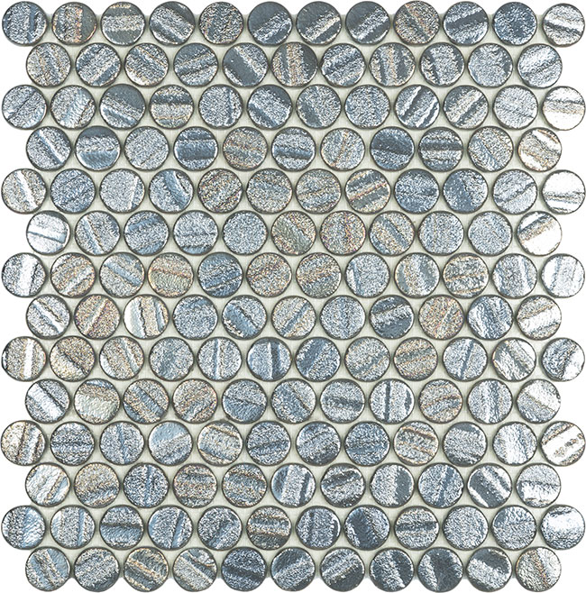 Aqua Grey Circle