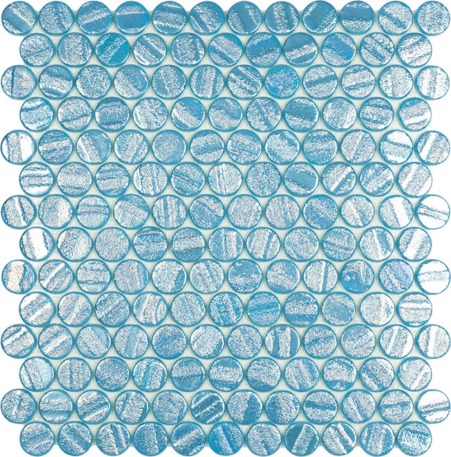 Aqua Light Blue Circle
