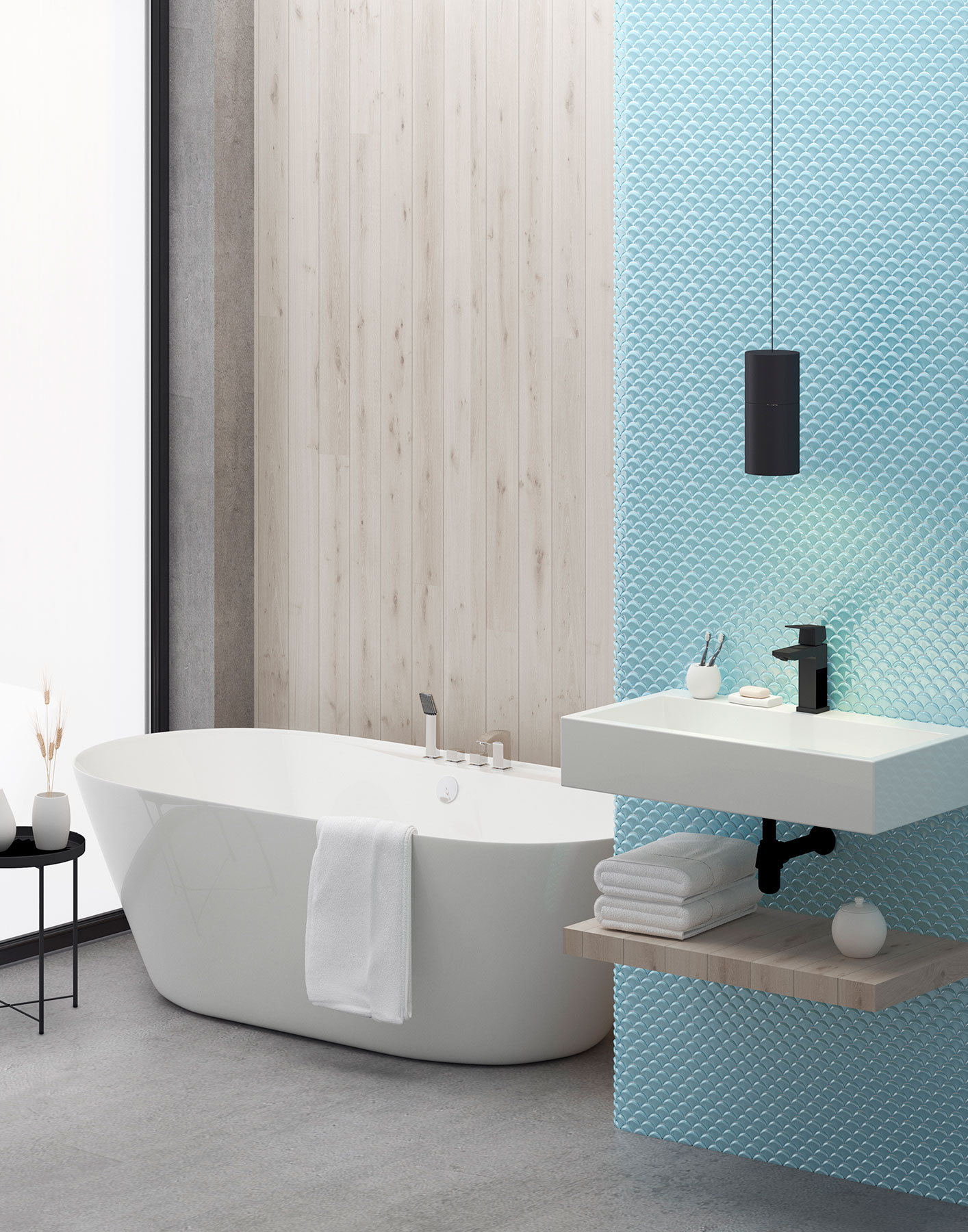 Dimension Tender Br - Mosaico Decorativo: Tendencia Para Baños Y Cocinas 2021 - Decoración