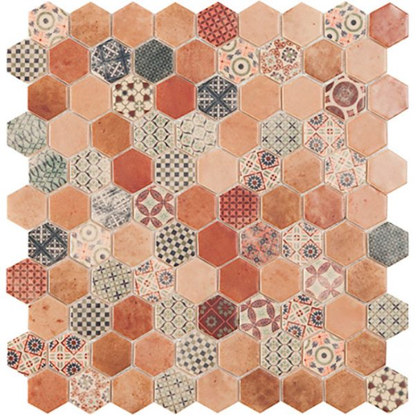 Decor Terre Mix Beige Hex
